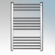Elnur TC150 TC Series Chrome Ladder Style Electric Towel Rail 150W H:870mm x 500mm x D:80mm