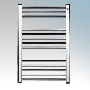 Elnur TC150 TC Series Chrome Ladder Style Electric Towel Rail 150W H:870mm x 500mm x D:80mm
