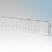 ElectroRad DE30DX80 Digi-Line White Wireless Enabled Double Panel Electric Fluid Filled Conservatory Radiator With Digital Thermostat 750W W:800mm x H:300mm x D:80mm