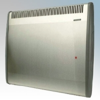 Consort PRX100SS PRX Series Stainless Steel Wireless Controlled Panel Convector Heater - Requires Wireless Controller 1000W H:430mm x W:614mm x D:93mm