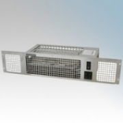 Vent-Axia 459115 VAPL2TC-S Stainless Steel Base Unit Heater With Twin Heat Settings & Integral Controls 2.0kW H:97mm x W:500mm x D:165mm