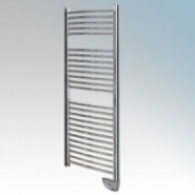 Consort LTR300C Chrome Wall Mounting Oil Filled Electronically Controlled Towel Rail With Touch Pad Control & Frost Protection IP24 275W H:960mm x W:460mm x D:120mm