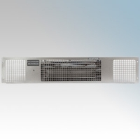 Consort PHRX2S Heatstream Stainless Wireless Controlled Electric Base Unit Heater  - Requires CRX2 Controller 2.0kW H:100mm x W:500mm x D:180mm