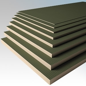 Heatmat TTB-006-7PCK Concrete-Faced Low Profile Thermal Insulation Boards - Thickness : 6.0mm - Coverage : 5.04m² (Pack Size 7 Boards)
