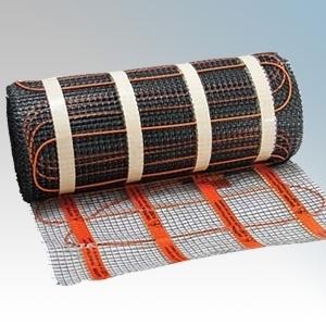 Heatmat WHM-200-0100 Wall Heating Mat W: 0.5m x L: 2.0m - Coverage: 1.0m² - 208W 230V 200W/m²