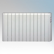 Haverland RC12A Designer RCA White 12 Element Energy Saving Electric Radiator With Thermal Safety Limiter 1.5kW