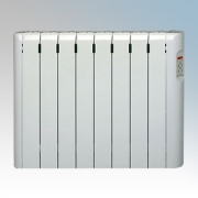 Haverland RC8E Designer RCE White 8 Element Energy Saving Electric Radiator With Pre-Programmed Temperature Settings 1.0kW