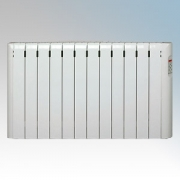 Haverland RC12E Designer RCE White 12 Element Energy Saving Electric Radiator With Pre-Programmed Temperature Settings 1.5kW