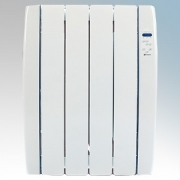 Haverland RC4TT Designer TT White 4 Element Energy Saving Curved Electric Radiator With Energy Monitor 0.5kW