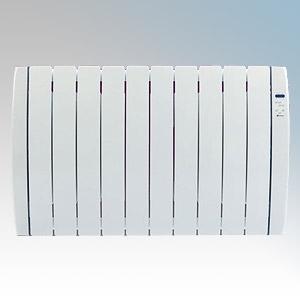 Haverland RC10TT Designer TT White 10 Element Energy Saving Curved Electric Radiator With Energy Monitor 1.25kW