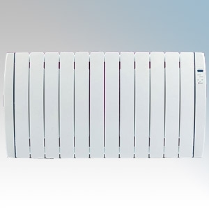 Haverland RC12TT Designer TT White 12 Element Energy Saving Curved Electric Radiator With Energy Monitor 1.5kW