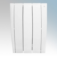 Haverland ULTRAD-3 UltraRad White 3 Element Intelligent Self Programming Low Energy Electric Radiator With Multiple Control Options & App Control 0.5kW H:585mm x W:425mm x D:100mm