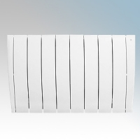 Haverland ULTRAD-8 UltraRad White 8 Element Intelligent Self Programming Low Energy Electric Radiator With Multiple Control Options & App Control 1.25kW H:585mm x W:925mm x D:100mm