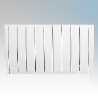 Haverland ULTRAD-9 UltraRad White 9 Element Intelligent Self Programming Low Energy Electric Radiator With Multiple Control Options & App Control 1.5kW H:585mm x W:1025mm x D:100mm