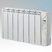 Elnur RFC7E-PLUS RFCE Plus Series White LOT20 Compliant 7 Element Oil Filled Low Energy Conservatory Radiator With Digital Contr