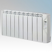 Elnur RFC9E-PLUS RFCE Plus Series White LOT20 Compliant 9 Element Oil Filled Low Energy Conservatory Radiator With Digital Contr