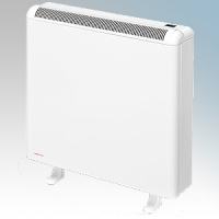 Elnur ECOSSH158 Ecombi SSH White LOT20 Compliant Automatic Storage Heater With Integral Energy Manager, Wireless Control & Programmer 975W W:550mm x H:730mm x D:180mm
