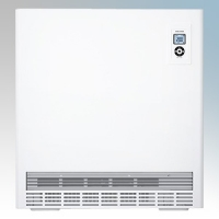 Stiebel Eltron ETS600 PLUS White LOT20 Compliant High Heat Output Storage Heater With Integral RT Controller + Timer & Fan Assistance 6kW W:1305mm x H:650mm x D:245mm
