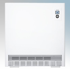 Stiebel Eltron ETS600 PLUS White LOT20 Compliant High Heat Output Storage Heater With Integral RT Controller + Timer & Fan Assis