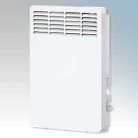 Stiebel Eltron CNS50 TREND UK White LOT20 Compliant Wall Mounted Panel Convector Heater With Digital Controller & 7 Day Timer 500W W:348mm x H:450mm x D:100mm