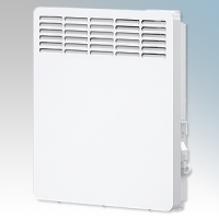 Stiebel Eltron CNS75 TREND UK White LOT20 Compliant Wall Mounted Panel Convector Heater With Digital Controller & 7 Day Timer 750W W:426mm x H:450mm x D:100mm