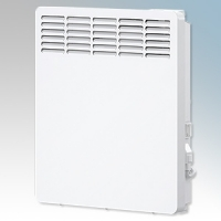 Stiebel Eltron CNS100 TREND UK White LOT20 Compliant Wall Mounted Panel Convector Heater With Digital Controller & 7 Day Timer 1kW W:426mm x H:450mm x D:100mm