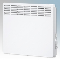 Stiebel Eltron CNS150 TREND UK White LOT20 Compliant Wall Mounted Panel Convector Heater With Digital Controller & 7 Day Timer 1.5kW W:582mm x H:450mm x D:100mm