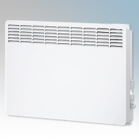 Stiebel Eltron CNS200 TREND UK White LOT20 Compliant Wall Mounted Panel Convector Heater With Digital Controller & 7 Day Timer 2kW W:738mm x H:450mm x D:100mm