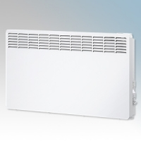 Stiebel Eltron CNS250 TREND UK White LOT20 Compliant Wall Mounted Panel Convector Heater With Digital Controller & 7 Day Timer 2kW W:894mm x H:450mm x D:100mm