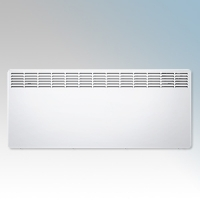 Stiebel Eltron CNS300 TREND UK White LOT20 Compliant Wall Mounted Panel Convector Heater With Digital Controller & 7 Day Timer 3kW W:1050mm x H:450mm x D:100mm