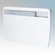 Creda Heating TPRIII100E TPRIIIE Series White LOT20 Compliant Slimline Storage Heater With Programmable Room Temperature, 7 Day