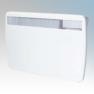 Creda Heating TPRIII125E TPRIIIE Series White LOT20 Compliant Slimline Storage Heater With Programmable Room Temperature, 7 Day