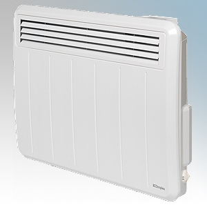 Dimplex PLX050E PLXE Series White LOT20 Compliant Panel Heater With Programmable Room Temperature, 7 Day Timer & Electronic Ther