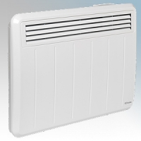 Dimplex PLX075E PLXE Series White LOT20 Compliant Panel Heater With Programmable Room Temperature, 7 Day Timer & Electronic Thermostat IP24 0.75kW