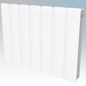 Dimplex MFP050E Monterrey White LOT20 Compliant Radiator Styled Panel Heater With Programmable Room Temperature, 7 Day Timer & E