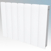Dimplex MFP075E Monterrey White LOT20 Compliant Radiator Styled Panel Heater With Programmable Room Temperature, 7 Day Timer & E
