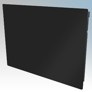 Dimplex GFP075BE Girona Black LOT20 Compliant Glass Front Panel Heater With Programmable Room Temperature, 7 Day Timer & Electro