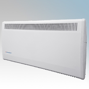 Consort Ple075 Ple Series White Panel Heater With 7 Day