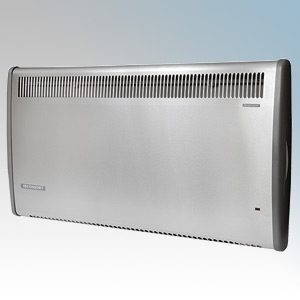 Consort PLE100SS PLE Series Stainless Steel Panel Heater With 7 Day Digital Timer & Electronic Thermostat 1kW W:614mm x H:430mm