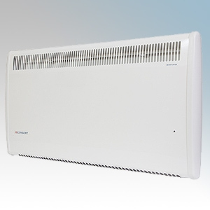 Consort PSL050 PSL Series White Wireless Controlled Panel Heater - Requires Separate SL Series Contoller 500W W:442mm x H:430mm