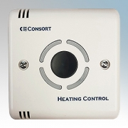 Consort SLPB White Wireless Controller With Run-Back Timer & Thermostat