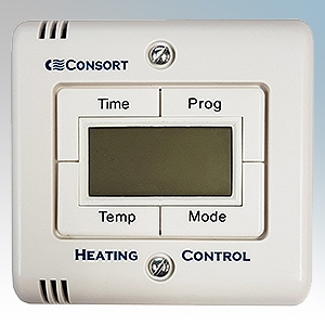 Consort SLTI White Wireless Controller With 7 Day Programmable Timer & Thermostat