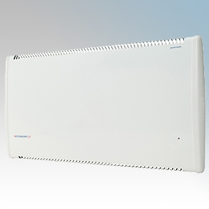 Consort LST500RX LST Series White Wireless Controlled Low Surface Temperature Panel Heater - Requires CRX Controller IP24 500W H:430mm x W:832mm x D:93mm