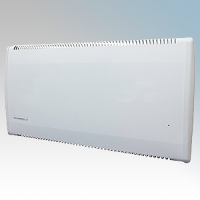 Consort LST500E LSTE Series White Low Surface Temperature Panel Heater With 7 Day Digital Timer & Electronic Thermostat 500W W:832mm x H:430mm x D:93mm