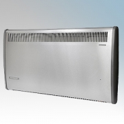 Consort PLSTI150SSE PLSTiE Series Stainless Steel Wall Mounted Low Surface Temperature Fan Heater With 7 Day Digital Timer & Int