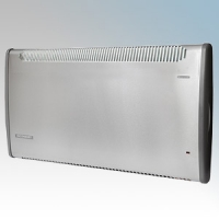 Consort PLSTI150SSRX PLSTi RX Series Stainless Steel Wall Mounted Wireless Controlled Low Surface Temperature Fan Heater - Requires CRX2 Controller 1.5kW W:892mm x H:430mm x D:93mm