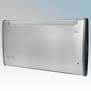 Consort PLSTI150SSRX PLSTi RX Series Stainless Steel Wall Mounted Wireless Controlled Low Surface Temperature Fan Heater - Requi