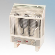 Consort UHA05LST Frostfighter Barley White Low Surface Temperature Frost Protection Radiant Heater With Independent Fan, Variabl