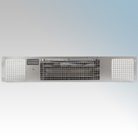 Consort PHSL2S PHSL Series Stainless Steel Wireless Controlled Electric Base Unit Heater - Requires SL Series Contoller 2kW H:100mm x W:500mm x D:180mm