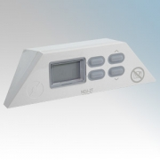 Nobo NCU2T 80310003 Thermostat + Programmable Timer & Set-Back Function Control Module For NFC4N, NTE4N and LST5N Panel Heaters